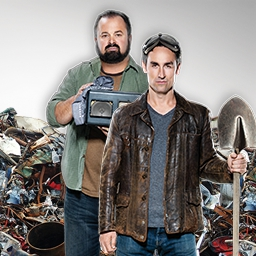 American Pickers - A hidden object game based on the hit TV series, American Pickers!  Join Mike and Frank as they travel the country looking for hidden treasures. - logo