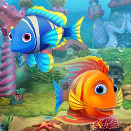 Aquascapes Collector's Edition - If you loved Fishdom, you'll be head over fins for Aquascapes Collector's Edition! Care for your fishy friends and find hidden objects to earn money! - logo