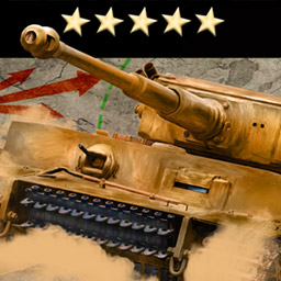 Army General - Army General is a turnbased strategy game that depicts the desert warfare in Northern Africa and parts of the Mediterranean sea during World War II. - logo