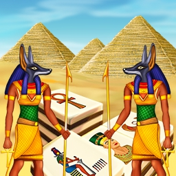 Art Mahjongg Egypt - Hidden worlds and adventure await you in Art Mahjongg Egypt, a solitaire-mahjongg game! - logo