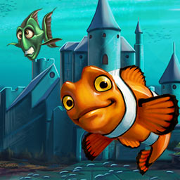 Atlantic Quest 2: The New Adventures - In Atlantic Quest 2: The New Adventures, you'll help your fishy friends save their home. Match 3 and save the ocean today! - logo