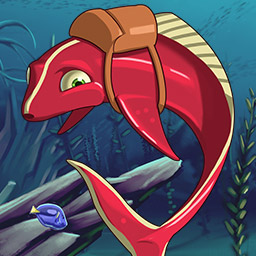 Atlantic Quest Solitaire - Maritime sabotage and missing eggs? Sharky and Clowny are on the case in the card game Atlantic Quest Solitaire! - logo