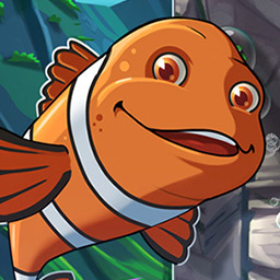 Atlantic Quest Solitaire - Clowny and Sharky never seem to find a single moment to relax - logo