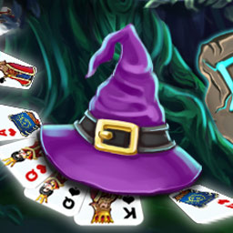 Avalon Legends Solitaire - ¡Consigue cartas mágicas y forma la Baraja de la Naturaleza en el juego de cartas Avalon Legend Solitaire! - logo