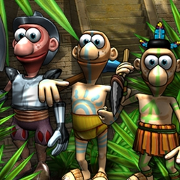 Aztec Tribe - Build an Aztec civilization and ward off enemy attacks in Aztec Tribe! - logo