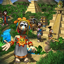 Aztec Tribe: New Land - Aztec Tribe: New Land is packed with village challenges and rewards! - logo