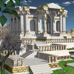 Babylonia - Explore a spellbinding match 3 paradise and restore gardens in Babylonia! - logo