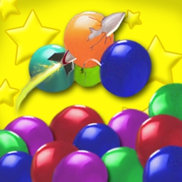 Balloon Blast - Blast through 99 levels of breezy fun with bright graphics. - logo