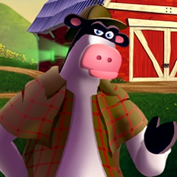Barnyard Sherlock Hooves - Sherlock Hooves is an adventure-puzzle game for all ages! - logo