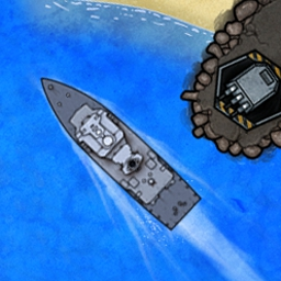 Battle Group - Set in the near future, Battle Group thrusts you into conflict on the open seas. Command a fleet of real-world, modern-day ships and armaments. - logo