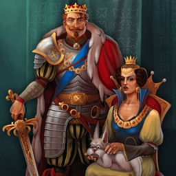 Be a King 2 - Defend your people and build your kingdom in Be a King 2! - logo