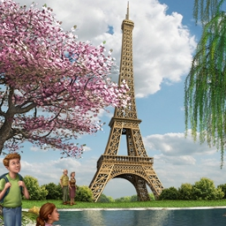 Big City Adventure: Paris - The latest chapter in the hit Hidden Object series is here! Explore Paris in the classic Big City Adventure way. Play Big City Adventure: Paris today! - logo