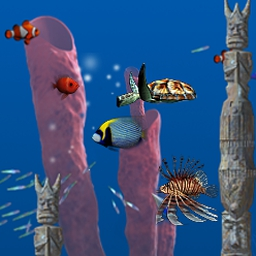 Big Kahuna Reef - Experience brilliant 3D graphics and tidal waves of fun in Big Kahuna Reef! - logo