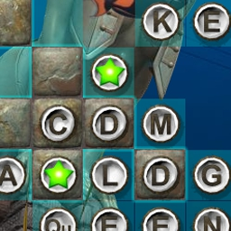 Big Kahuna Words - Dive into an underwater world full of fishy friends. - logo