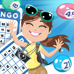LocoBingo - Gather your friends - it's LocoBingo time! Sign in with your Facebook account and invite your friends to play! - logo