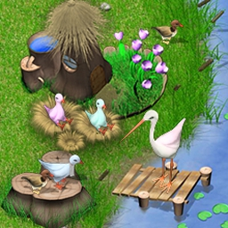 Birdies - Prepare food, collect water, sing lullabies, and even entertain the birds! - logo