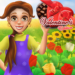 Bloom! Valentine's Edition - Bloom! Valentine's Edition adds a touch of romance to this popular time management game. - logo