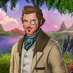 Botanica: Into the Unknown - Make friends and enemies on a strange planet in the hidden object game Botanica: Into the Unknown! - logo