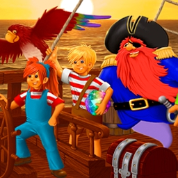 Boulder Dash - Pirates Quest - Lead your pirate crew to recover treasure in Boulder Dash - Pirate's Quest! - logo