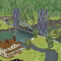 Bridge It Plus - Span valleys, gorges and rivers by choosing your materials and designing your bridge carefully. Then put it to the test in Bridge It Plus. - logo