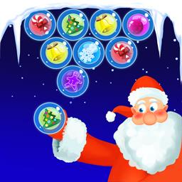 Bubble Shooter Christmas - Get that festive feeling all year long with the arcade game Bubble Shooter Christmas! - logo