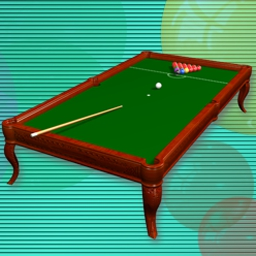 Bubble Snooker - Combine a bubble shooting game with billiards, and you get Bubble Snooker! - logo