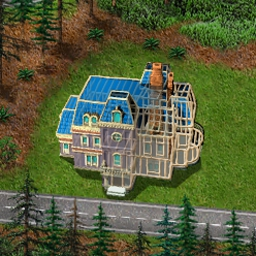 Build-a-lot - Build dream homes, upgrade them, and sell for huge profits in Build-a-lot! - logo