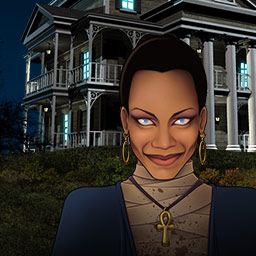 Build-a-lot Mysteries 2 - What will you discover about the eerie Graves family as you build, buy and flip houses in Build-A-Lot Mysteries 2? - logo