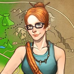 Campgrounds: The Endorus Expedition - Follow a mysterious artifact in the time management game Campgrounds: The Endorus Expedition. - logo