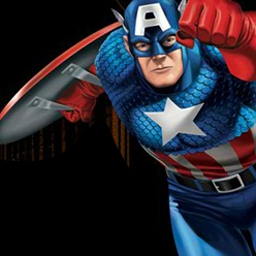 Captain America: Red Skull and Crossbones - Red Skull and Crossbones have teamed up to wreak havoc on the city. Can Cap stop them? Play Captain America: Red Skull and Crossbones! - logo