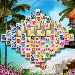 Caribbean Mah Jong - Enjoy a tropical tour of tile-matching fun in Caribbean Mah Jong! - logo