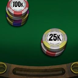Caribbean Poker - Take on the dealer in the online game Caribbean Poker. Will you fold or double your bet? - logo