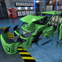Car Mechanic Simulator 2015 - NEW CARS, NEW TOOLS, NEW OPTIONS, MORE PARTS AND MUCH MORE FUN IN THE NEXT VERSION OF CAR MECHANIC SIMULATOR! TAKE YOUR WRENCH - logo
