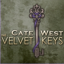 Cate West - The Velvet Keys - logo