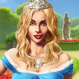 Chateau Garden - To inherit the beautiful chateau, the princess must first fix it up in the match 3 game Chateau Garden! - logo