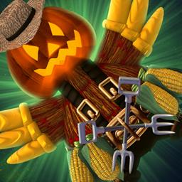 Chicken Invaders 5: Cluck of the Darkside Halloween Edition - Stop the chickens in the arcade game Chicken Invaders 5: Cluck of the Darkside Halloween Edition! - logo