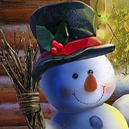 Christmas Adventure: Candy Storm - In the hidden object game Christmas Adventure: Candy Storm, you have to save Christmas! - logo