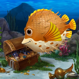Classic Fishdom 2 in 1 Pack - Complete addictive match-3 levels and create your dream aquarium!  The Classic Fishdom 2 in 1 Pack includes Fishdom and Fishdom 2! - logo