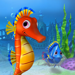 Classic Fishdom Triple Pack - Are you in the mood to Match 3? Get 3 fantastic Fishdom games (Fishdom, Fishdom 2 and Fishdom 3) in the Classic Fishdom Triple Pack. - logo
