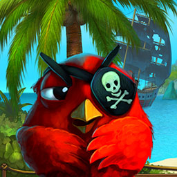 Claws & Feathers 2 - Move your birds and match them together to defeat the cats in the match 3 game Claws & Feathers 2! - logo