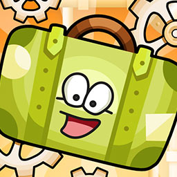 Crazy Belts - Will all the bags make it to their destinations? With conveyor belts, gears and colors - it's harder than it sounds in Crazy Belts, a puzzle game! - logo