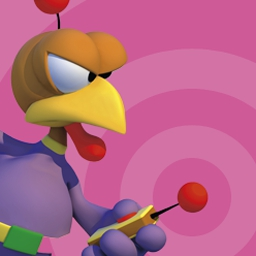 Crazy Chicken Invasion - In Crazy Chicken Invasion, arguably the most famous bird in the world is back in the kind of classic shooter that fans have come to appreciate. - logo
