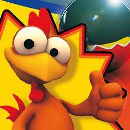 Crazy Chicken Pinball - Crazy Chicken Pinball includes five action-packed pinball tables! - logo