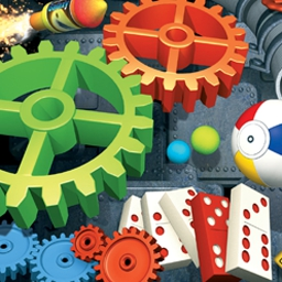Crazy Machines 2 - Build wacky contraptions with real physical properties in Crazy Machines 2! - logo