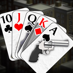 Crime Solitaire - It's up to you to play Crime Solitaire and catch criminals who break the most trivial laws in the city of Topley! - logo