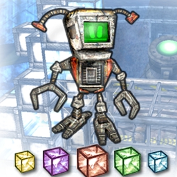 Cubology - Can you help I-ZAC (the droid) come back to life? - logo