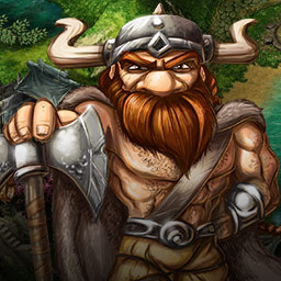 Cultures Online - Construct a village, recruit heroes and explore dungeons in FUNATICS Software GmbH's Cultures Online, an online combination of city building and RPG. - logo