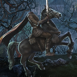 Cursed Fates: The Headless Horseman Collector's Edition - ¿Sobrevivirás a la maldición?  En Cursed Fates: The Headless Horseman, una leyenda terrible se ha vuelto realidad. - logo
