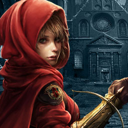 Dark Parables: The Red Riding Hood Sisters - The Red Riding Hood Sisters need your help in this adventure game, part of the Dark Parables series. - logo