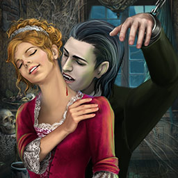 Dark Romance: Vampire in Love - Can a vampire and a human have a happily ever after? Play the hidden object game Dark Romance: Vampire In Love! - logo
